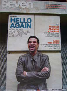 Seven magazine - Lionel Richie cover (1 February 2009)