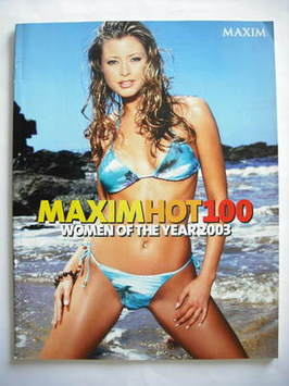 MAXIM supplement - Hot 100 Women of the Year 2003