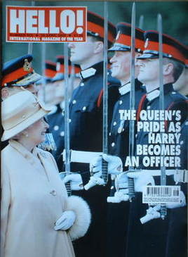 <!--2006-04-25-->Hello! magazine - Queen Elizabeth II cover (25 April 2006