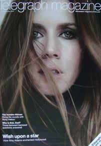 <!--2007-11-17-->Telegraph magazine - Amy Adams cover (17 November 2007)