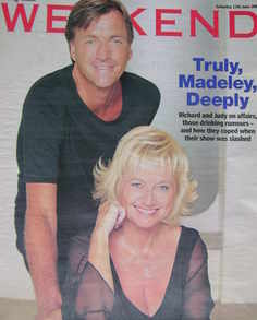 Weekend magazine - Richard Madeley and Judy Finnigan cover (17 June 2006)