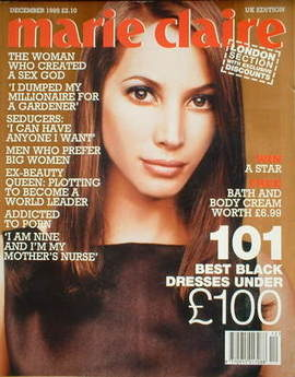 <!--1995-12-->British Marie Claire magazine - December 1995 - Christy Turli