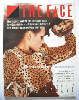 The Face magazine - Yasmin Le Bon cover (November 1986 - Issue 79)
