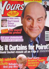 Yours magazine - David Suchet cover (April 2004)