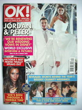 <!--2006-03-28-->OK! magazine - Jordan Katie Price and Peter Andre cover (2