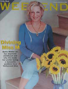 <!--2006-02-25-->Weekend magazine - Bette Midler cover (25 February 2006)