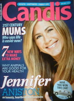 Candis magazine - March 2009 - Jennifer Aniston cover