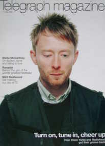 <!--2003-05-17-->Telegraph magazine - Thom Yorke cover (17 May 2003)
