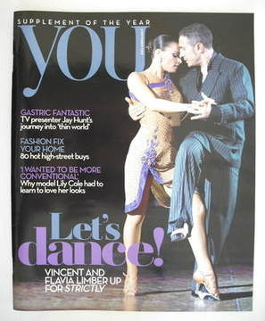 <!--2009-09-06-->You magazine - Vincent Simone and Flavia Cacace cover (6 S