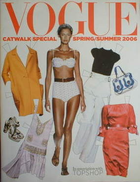 British Vogue supplement - Catwalk Special Spring/Summer 2006