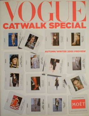 British Vogue supplement - Catwalk Special Autumn/Winter 2005 Preview