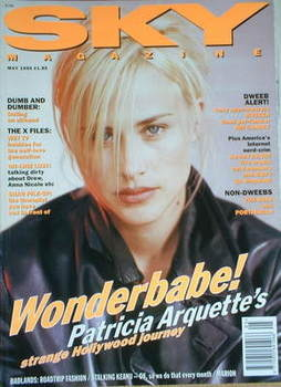 <!--1995-05-->Sky magazine - Patricia Arquette cover (May 1995)
