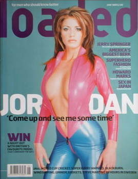 <!--1999-06-->Loaded magazine - Katie Price cover (June 1999)