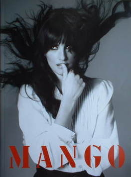 Mango brochure - Penelope Cruz cover