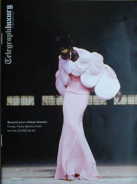 Telegraph Luxury magazine - 17 November 2007 - Kinee Diouf cover