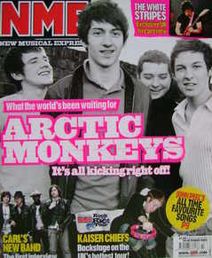 <!--2005-10-29-->NME magazine - Arctic Monkeys cover (29 October 2005)
