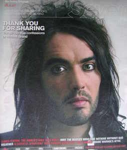 Seven magazine - Russell Brand cover (18 November 2007)