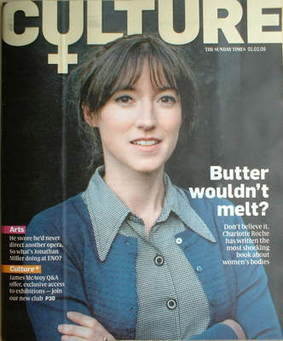 <!--2009-02-01-->Culture magazine - Charlotte Roche cover (1 February 2009)