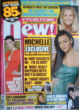 <!--2009-02-02-->New magazine - 2 February 2009 - Michelle Heaton cover