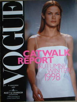 British Vogue supplement - Catwalk Report (Autumn/Winter 1998)