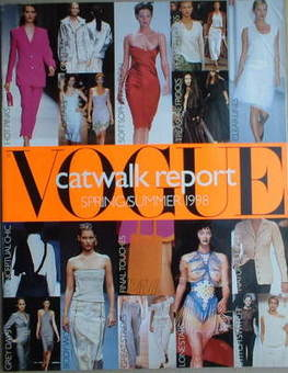 British Vogue supplement - Catwalk Report (Spring/Summer 1998)