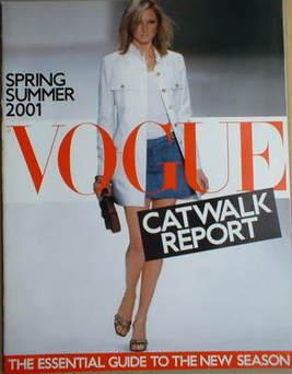 British Vogue supplement - Catwalk Report (Spring/Summer 2001)