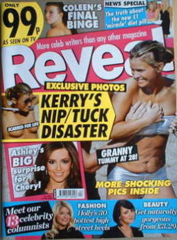 Reveal magazine - Kerry Katona cover (31 January - 6 February 2009)