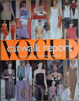 British Vogue supplement - Catwalk Report (1997)