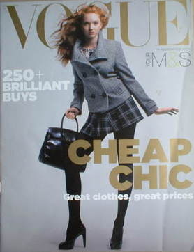 British Vogue supplement - Cheap Chic - 250+ Brilliant Buys (2006)