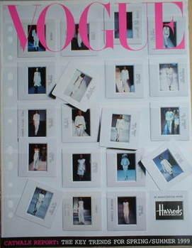 British Vogue supplement - Catwalk Report (Spring/Summer 1999)