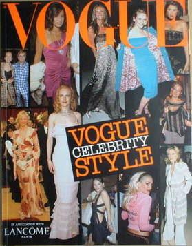 British Vogue supplement - Celebrity Style (2002)