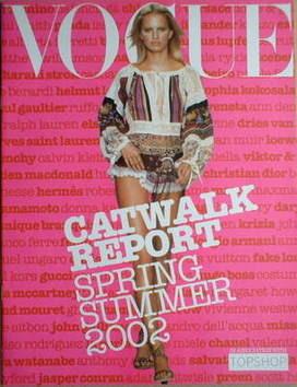 British Vogue supplement - Catwalk Report (Spring/Summer 2002)