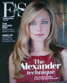 <!--2007-10-05-->Evening Standard magazine - Sarah Alexander cover (5 Octob