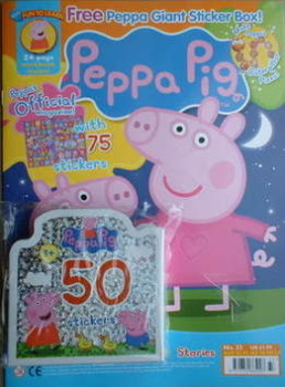 Peppa Pig magazine - No. 33 (February 2009)
