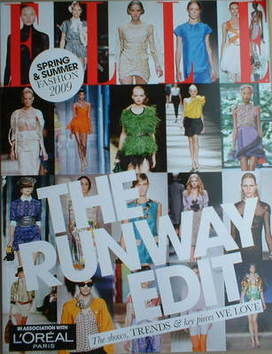 British Elle supplement - The Runway Edit (Spring/Summer Fashion 2009)