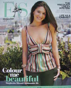 Evening Standard magazine - Margherita Missoni cover (9 June 2006)