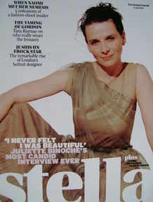 <!--2008-07-06-->Stella magazine - Juliette Binoche cover (6 July 2008)