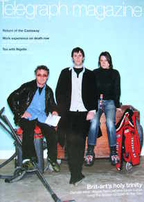 <!--2004-02-28-->Telegraph magazine - Damien Hirst, Angus Fairhurst, Sarah