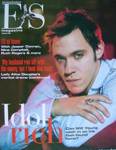 <!--2004-03-12-->Evening Standard magazine - Will Young cover (12 March 2004)
