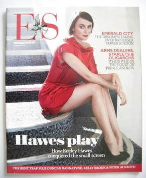 <!--2008-08-29-->Evening Standard magazine - Keeley Hawes cover (29 August