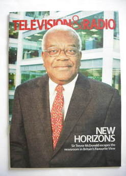 Television&Radio magazine - Sir Trevor McDonald cover (11 August 2007)