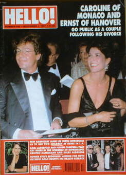 <!--1997-11-01-->Hello! magazine - Princess Caroline cover (1 November 1997