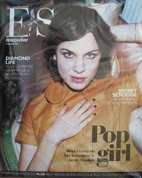 <!--2007-12-07-->Evening Standard magazine - Alexa Chung cover (7 December