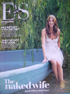 <!--2006-07-28-->Evening Standard magazine - Jools Oliver cover (28 July 2006)