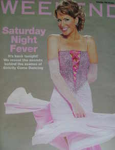 Weekend magazine - Natasha Kaplinsky cover (15 October 2005)