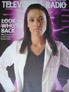 Television&Radio magazine - Freema Agyeman cover (26 April 2008)