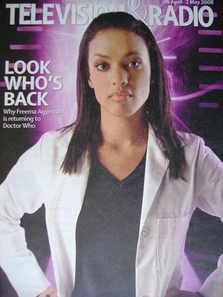 Television&Radio magazine - Freema Agyeman cover (26 April 2008)