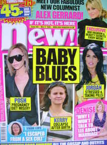 New magazine - 12 May 2008 - Baby Blues cover