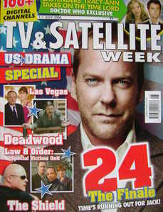 TV & Satellite Week magazine - Kiefer Sutherland cover (1-7 July 2006)