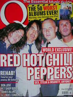 Q magazine - Red Hot Chili Peppers cover (May 2006)